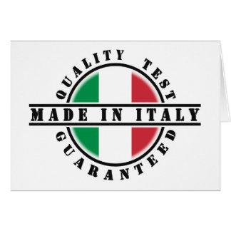 イタリア製挨拶状 カード