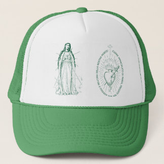 イタリア語でScapular緑 キャップ