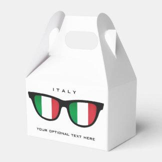 イタリア語はカスタムな文字及び色の好意箱を影で覆います フェイバーボックス