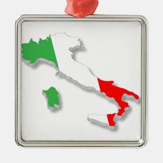 イタリア語 メタルオーナメント