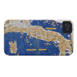 イタリア1482年のPtolemaic地図(着色されたlitho) Case-Mate iPhone 4 ケース