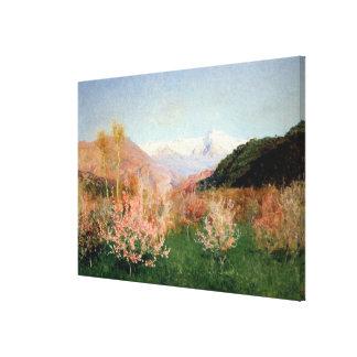 イタリア1890年の春 キャンバスプリント