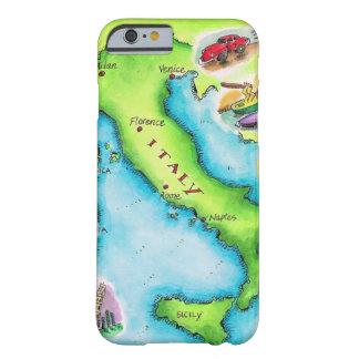 イタリア2の地図 iPhone 6 ベアリーゼアケース