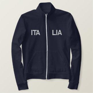 イタリア2014の刺繍されたスポーツのイタリア2012の上 刺繍入りジャケット