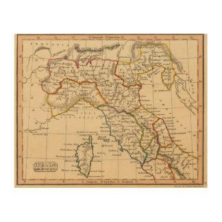 イタリア20 ウッドウォールアート