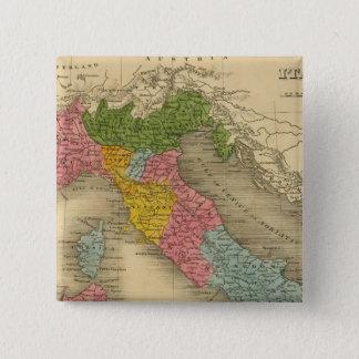 イタリア8 5.1CM 正方形バッジ