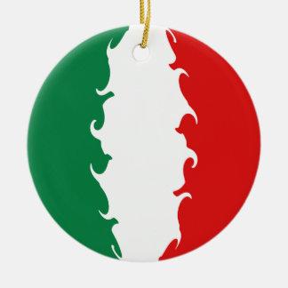 イタリア|すごい|旗 クリスマスツリーオーナメント