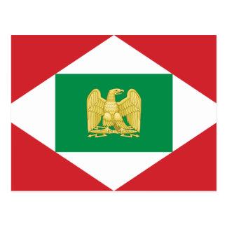 イタリア、イタリアののナポレオンの王国旗 ポストカード