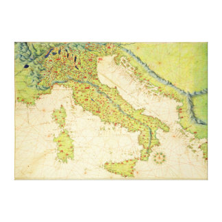 イタリア キャンバスプリント