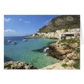 イタリア、シシリーのEgadi島、Levanzo、 カード