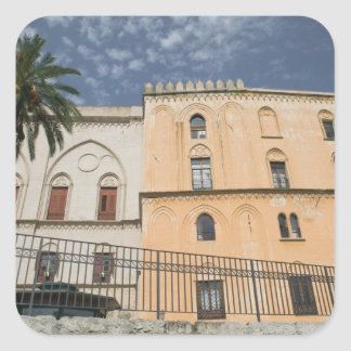 イタリア、シシリー、パレルモのPalazzoのdei Normanni スクエアシール