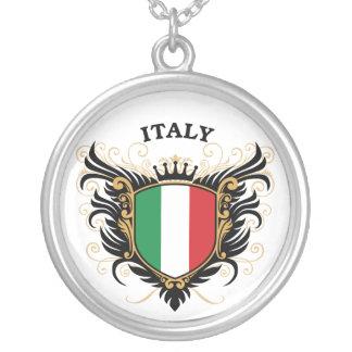 イタリア シルバープレートネックレス