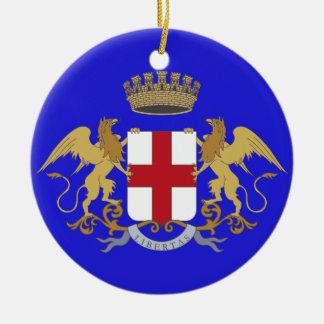 イタリア-ジェノアのカスタムなクリスマスのオーナメント セラミックオーナメント
