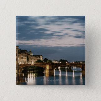 イタリア、タスカニー、フィレンツェ2 5.1CM 正方形バッジ