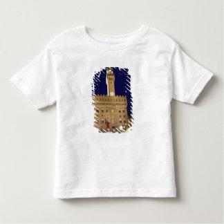 イタリア、タスカニー、フィレンツェ。 夜の食事 トドラーTシャツ