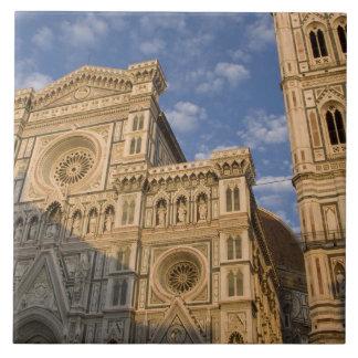 イタリア、タスカニー、フィレンツェ。 大教会堂 タイル