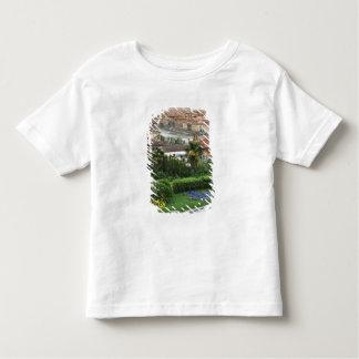 イタリア、タスカニー、フィレンツェ。 都市の眺めからの トドラーTシャツ