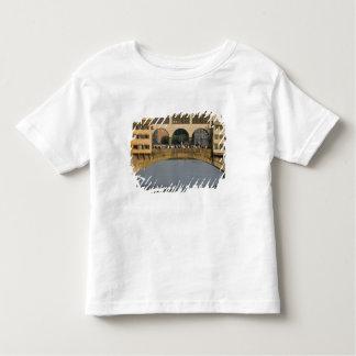 イタリア、タスカニー、フィレンツェ、Ponte Vecchio トドラーTシャツ