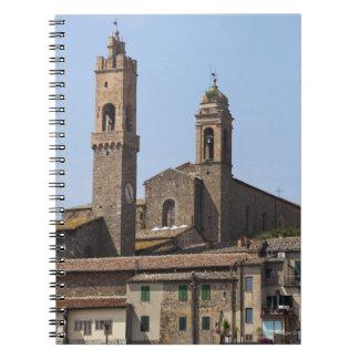 イタリア。 タスカニー。 Montalcino 2 ノートブック