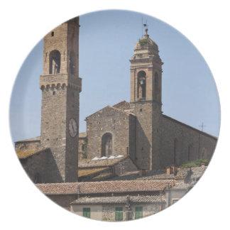 イタリア。 タスカニー。 Montalcino 2 プレート