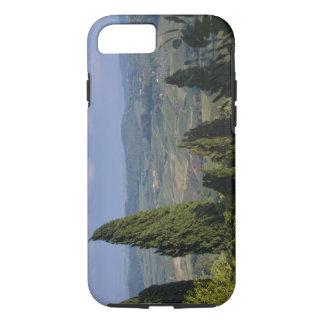 イタリア、タスカニー、Montepulciano。 の眺め iPhone 8/7ケース