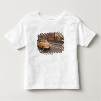 イタリア、フィレンツェ。 フィアット800の再結集の十字アルノ トドラーTシャツ