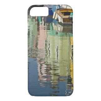 イタリア、ベニス、Burano。 多彩の家 iPhone 8/7ケース