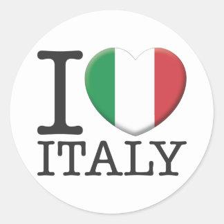 イタリア ラウンドシール