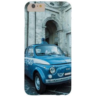 イタリア、ローマのフィアット500のパトカーのIPhone6ケース Barely There iPhone 6 Plus ケース