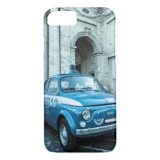 イタリア、ローマのフィアット500のパトカーのiPhone 7の場合 iPhone 8/7ケース