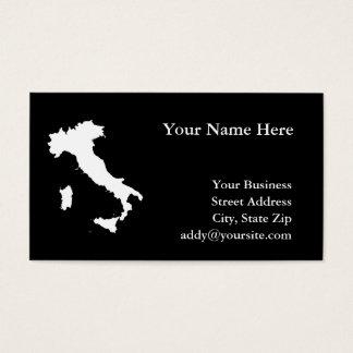 イタリア 名刺