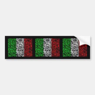 イタリア-旗 バンパーステッカー