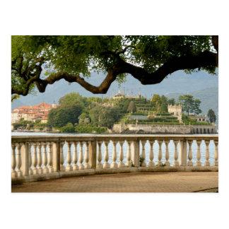 イタリア、Stresaの湖Maggiore、Isola Bella ポストカード
