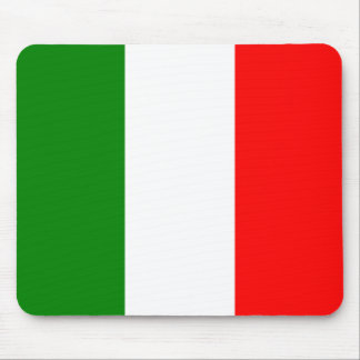 イタリアBandieraのd'Italia Tricoloreのイタリアンな旗 マウスパッド