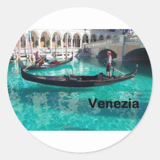 イタリアBella Venezia! (St.K) 丸型シール