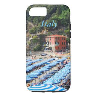 イタリアCinque Terreのビーチ iPhone 8/7ケース