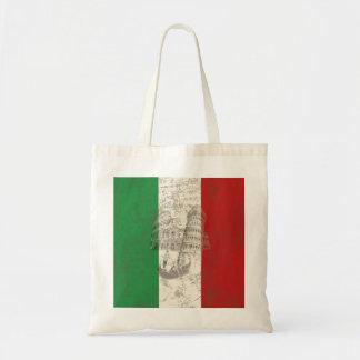 イタリアID157の旗そして記号 トートバッグ