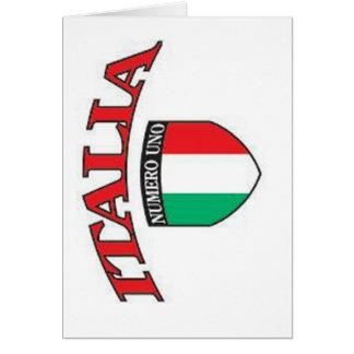 イタリアNumero Unoは梳きます カード