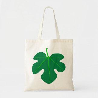 イチジクの葉のバッグ トートバッグ