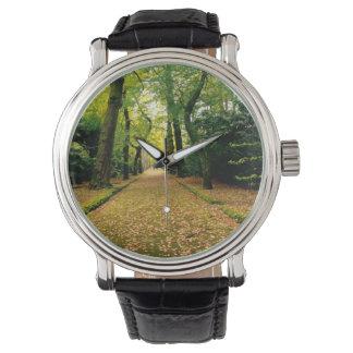 イチョウのBilobaの木 腕時計