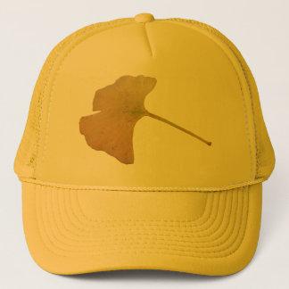 イチョウのBilobaの葉の帽子 キャップ