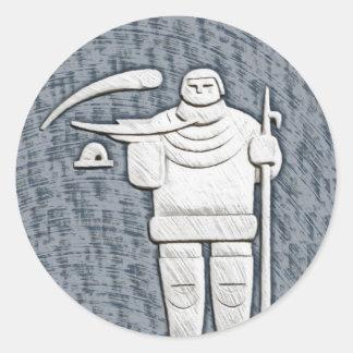 イヌイット族 ラウンドシール