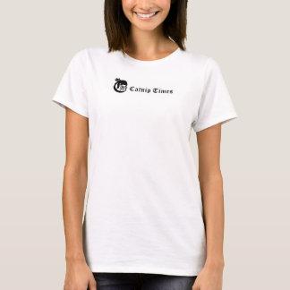 イヌハッカは公式のティーの不足分の袖を時間を計ります Tシャツ