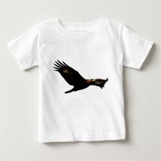 イヌワシの上昇 ベビーTシャツ