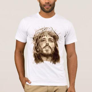イバラの冠を持つイエス・キリスト Tシャツ