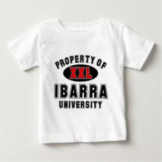 イバラ大学の特性 ベビーTシャツ