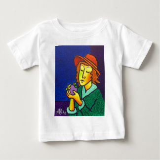 イブおよびApple ベビーTシャツ
