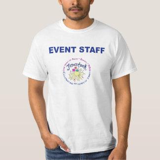 イベントのスタッフのワイシャツ2 Tシャツ