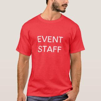 イベントのスタッフ、カスタムなTシャツ Tシャツ