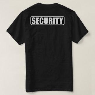 イベントの保証乗組員-前部および背部 Tシャツ